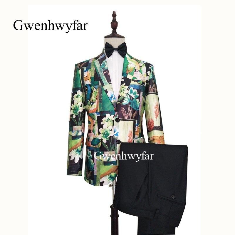 Gwenhwyfar 2019 Unique Tuxedos for Men Fresh and Bright