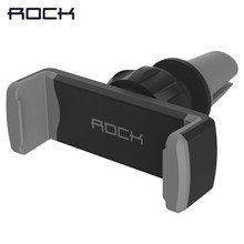 ROCK Deluxe Car vent phone holder universal 360 adjustable monut GPS car mobile phone holder stand for iPhone 6 6s Samsung S6