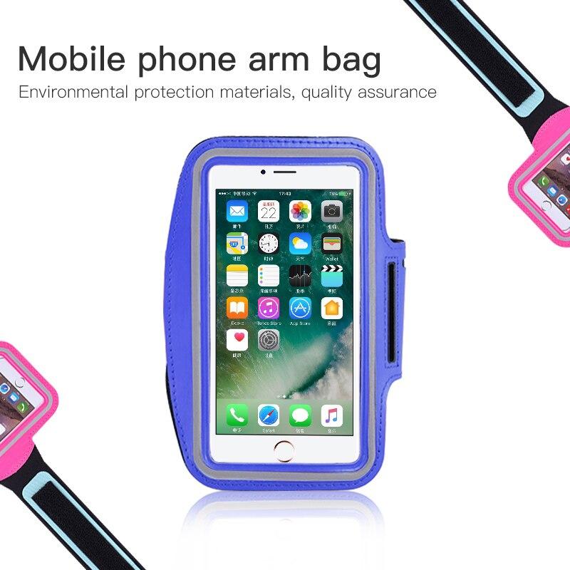 a67b7709157 Brazalete para el tamaño 4,0, 4,5, 4,7, 5,2, 5,5, 6,5 pulgadas de teléfono  celular caso para iphone Samsung Huawei Xiaomi VIVO el teléfono en la mano