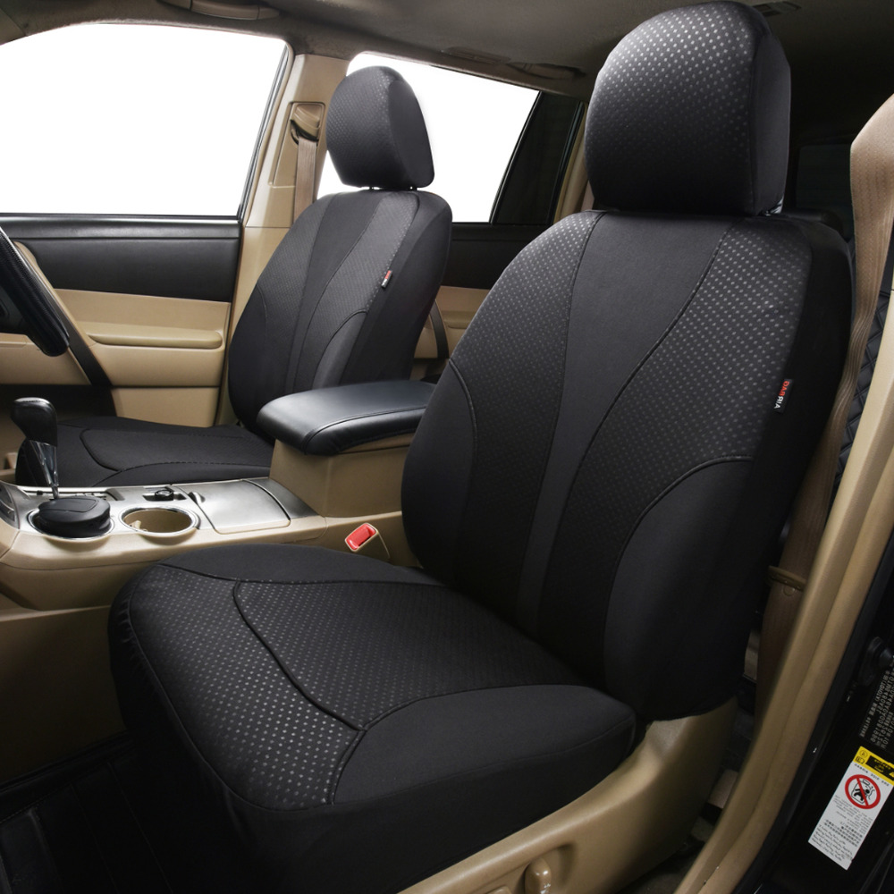 2018 New 11 PCS Black Car Seat Cover Universal Front Bench Automobiles Covers Protector Interior Accessories