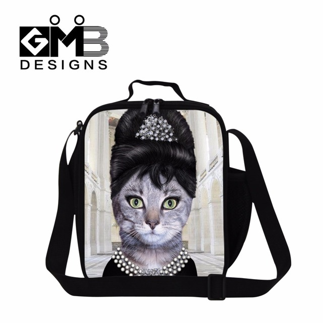 bolsa termica para marmita insulated lunch container for girls animal printed food bag for adults work children meal bags school