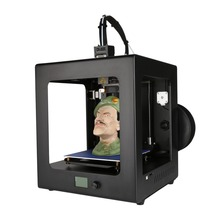 Auto Leveling Metal Desktop 3D Printer Large Printing Size High Precision Printing Machine With Free Filaments