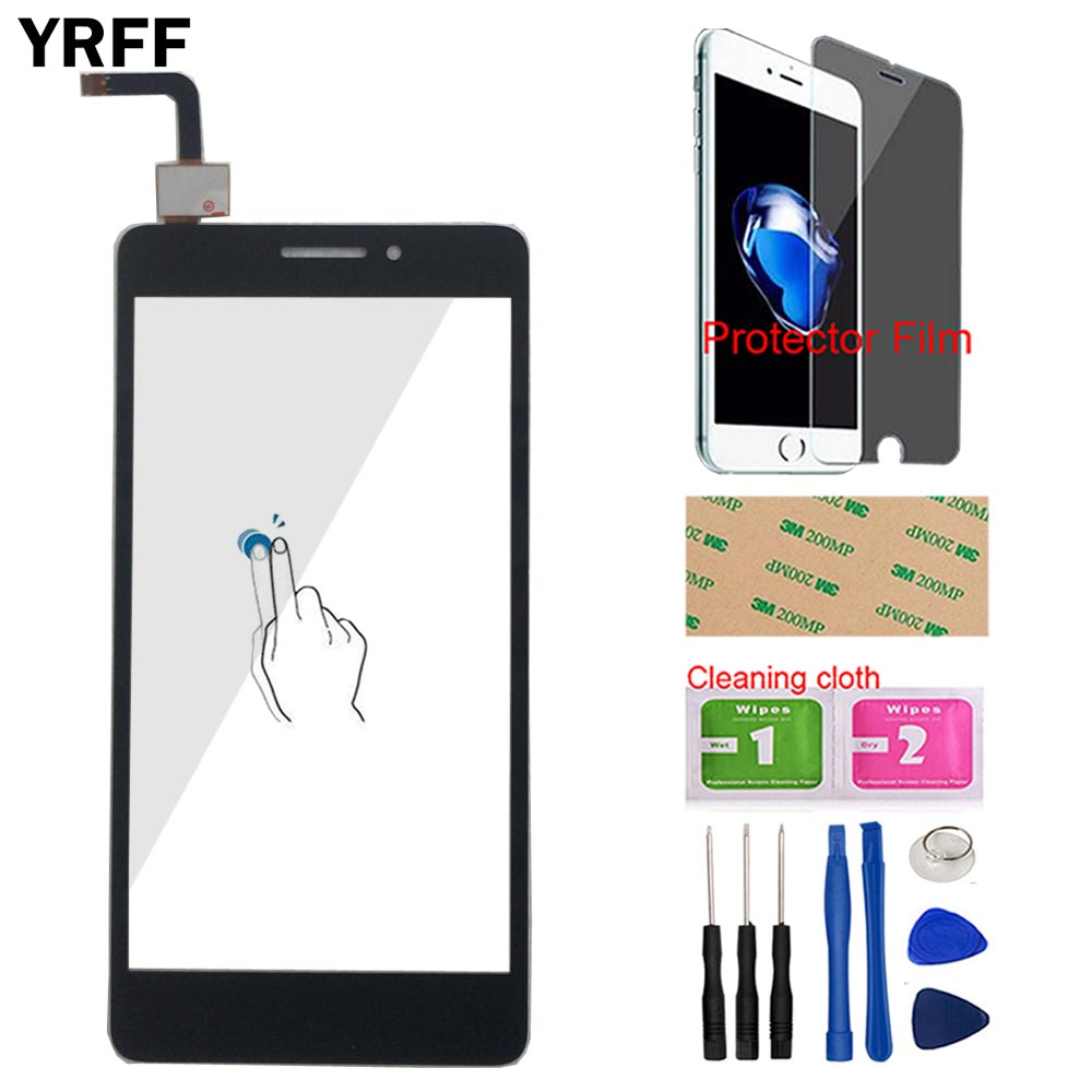 Touch Panel Sensor Screen For Lenovo Vibe P1m P1m A40 P1ma40 P1mc50 Touch Screen Digitizer Front Glass Tools + Protector Film