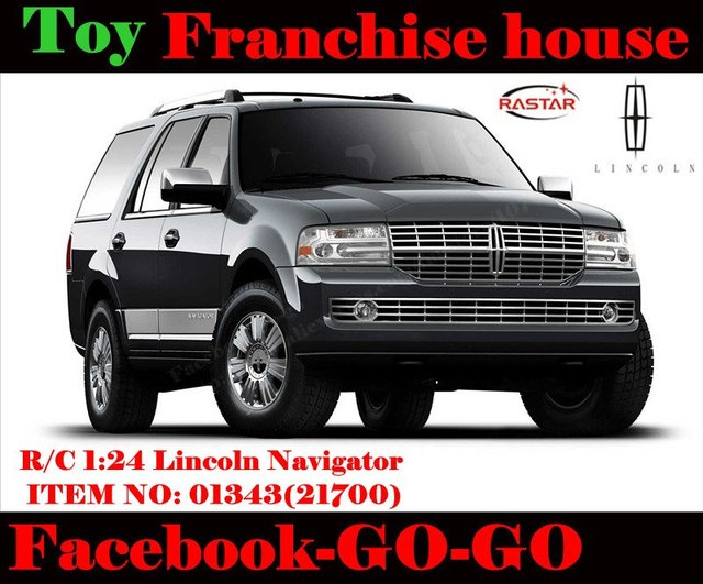 1 24 Lincoln Navigator Full Size Ford Suv Luxury Suv Remote Control