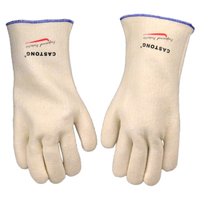 CASTONG High Temperature Protect Gloves Wear Resistance 34cm Length Under 300 Centigrade Heat Endurance Insulated Flexible