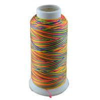 500D 3 высокопрочная полиэфирная нить для шитья 6 цветов # нить для вышивки