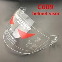 Free Shipping Marushin C609 Full Face Helmet Lens Cascos Motocicleta Visor Marushin Clear And Rainbow Helmet