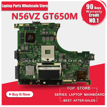 Für Asus N56VM N56VJ n56v GT650 2 GB REV: 2,3 Grafik N13P-GL-A1 Laptop Motherboard Vollständig Getestet Arbeits Perfekte