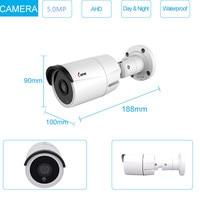 5MP AHD camera Outdoor Weatherproof CCTV Camera Home Security camera