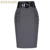 Womens Formal High Waist Vintage Retro High Waist Bodycon OL Skirt Summer Casual Mini Pencil Skirts