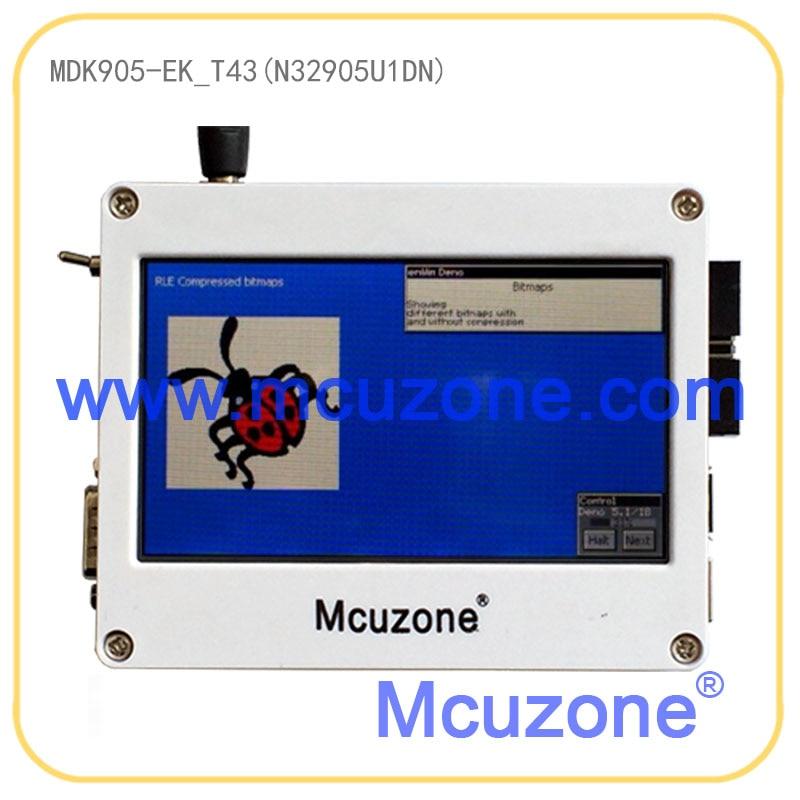 MDK905-EK_T43-USB WIFI, NUVOTON N32905 Soc, 32MB DDR, USB, LCDC, JPEG Codec, 4.3