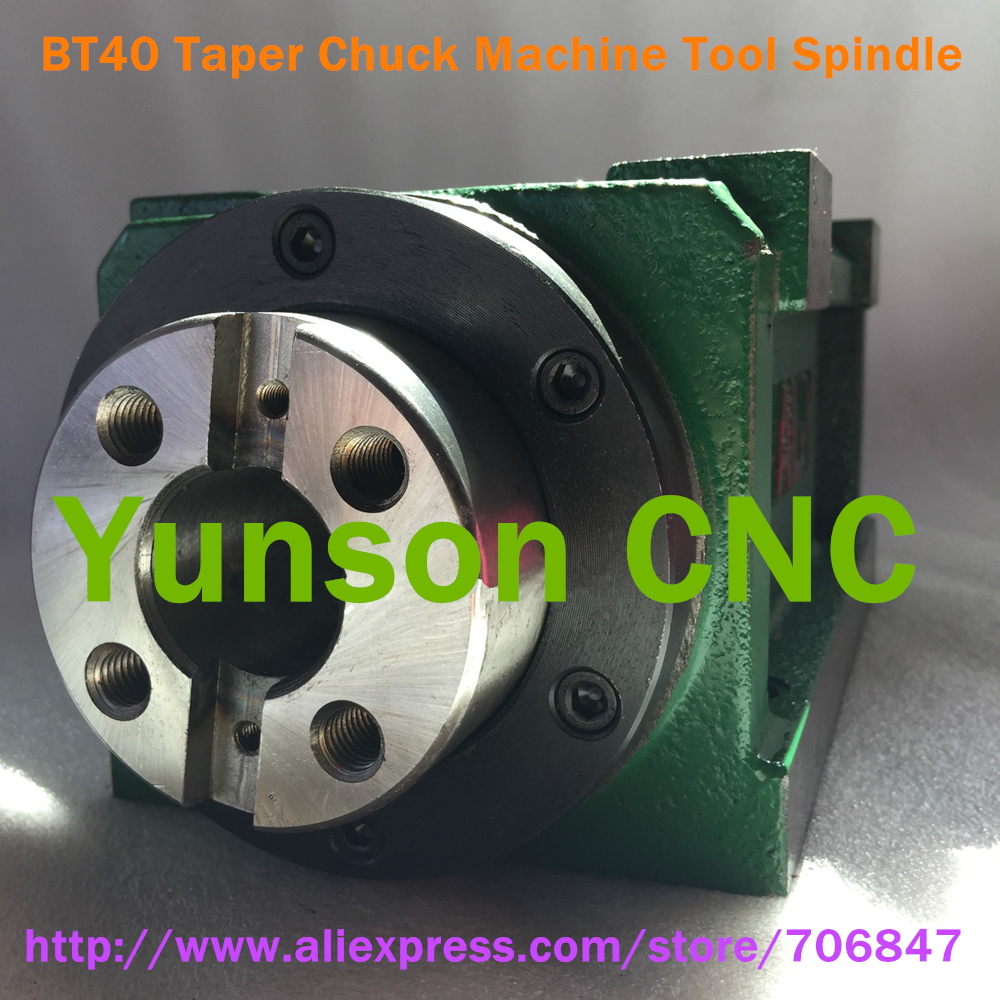 Image 2 - BT40 Taper Chuck 3000W 3KW 4hp Power Head Power Unit Machine Tool Spindle 3000RPM for CNC Cutting/Boring/Milling machine-in Machine Tool Spindle from Tools