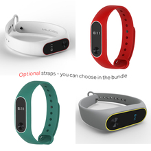 Original Xiaomi Mi Band 2 Sports Heart Rate Fitness Touchpad OLED Screen for Android and IOS