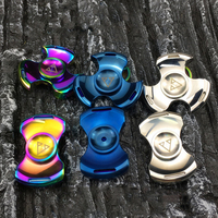 Rotablade Seiko Metal Fidget Spinner With Hole Torqbar Brass Finger Spinner Fingertips Hand Spinner EDC Torque