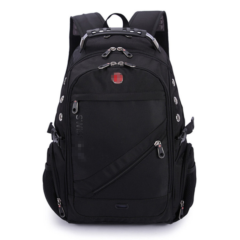 цена на swiss army 8810 2017 Quality Waterproof red cross 17 inch laptop Backpack gear swiss Laptop Backpack Sac A Dos Men Backpack