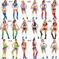 Кубок евро-футбол фэнтези футбол костюм ребенок футбол девушка сексуальные шорты болельщики команды устанавливает спортивный костюм 11 стран