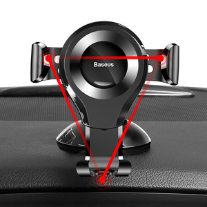 Image 2 - Baseus Gravity Car Phone Holder Support Sucker Strong Suction Cup For Xiaomi Samsung Mobilephon Car Mount Auto Phone Stand