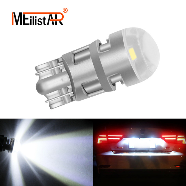 T10 LED W5W Canbus LED Bulb 194 168 DRL Car Auto Sidemarker Parking Width Interior Dome Light Reading Lamp 12V Car styling