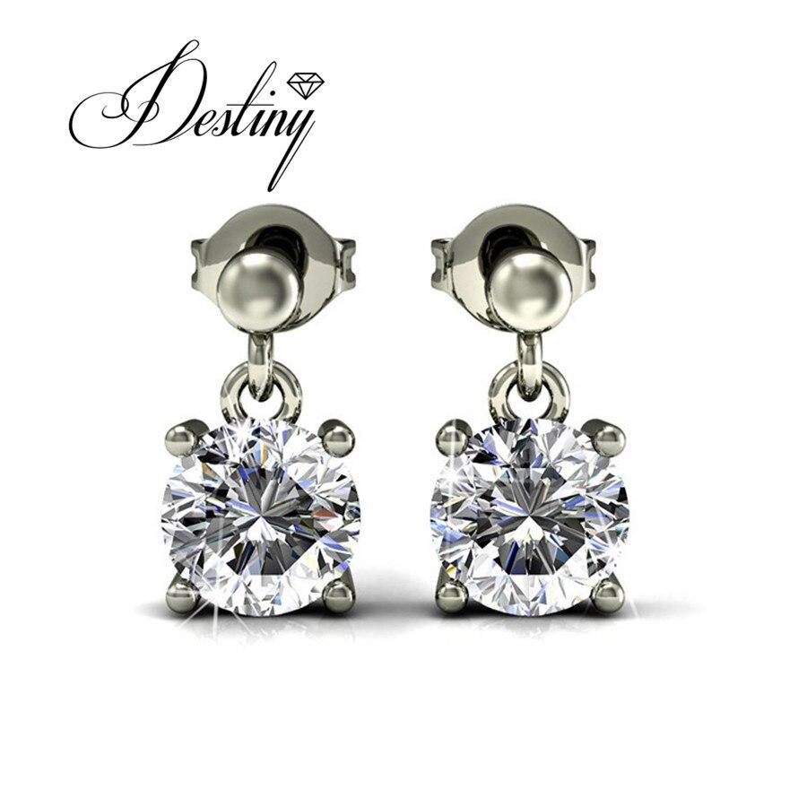 Destiny Jewellery 2017 Fashion Earring Crystals From Swarovski Earrings  Jupiter Chandelier Earrings Oorbellen De0207(china
