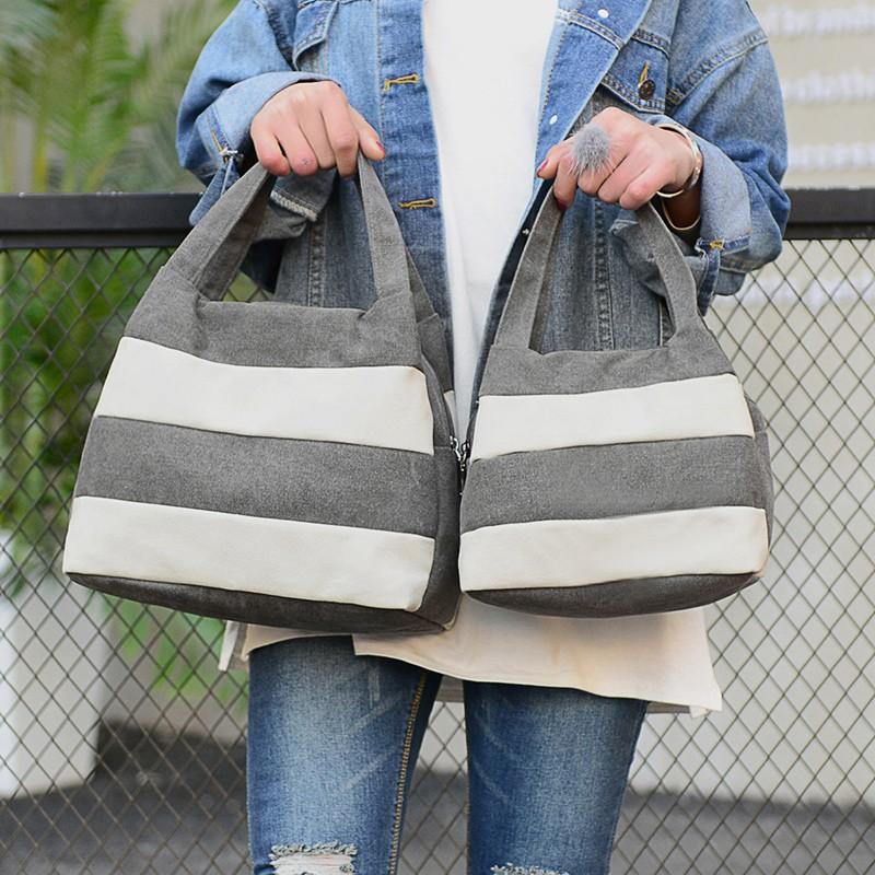 Famous Brand Women Shoulder Bag Casual Canvas Shopping Tote Bags Handbag for Women Beach Totes Shoulder Bag Hobos Bolso Mujer (28)