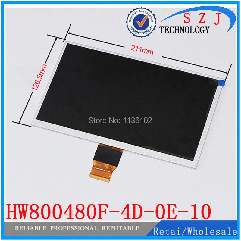 (Ref: HW800480F-4D-0E-10 ) Original 9 inch LCD LCM Display PANEL screen 800*480 Tablet PC display Free shipping