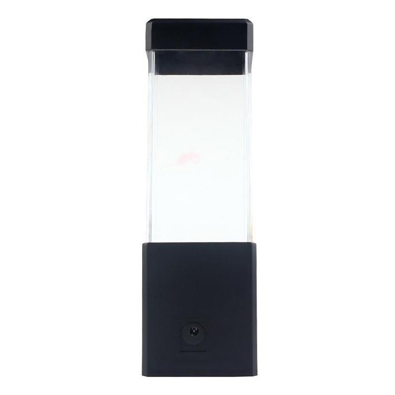 LED Desktop Light Jellyfish Tropical Fish Aquarium Tank LED Light Relaxing Bedside Mood Night Light Lamp (5W Jellyfish lamp)