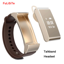 Smart Браслет talkband M8 Bluetooth наушники гарнитуры Фитнес Мониторы с anti-lost напоминание для Android и IOS