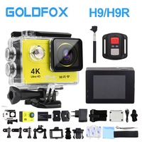 H9/H9R Ultra HD 4K Action Camera 1080P HD Wifi Sports Video Camera 12MP DV 2.0LCD Go Extreme Pro Camera with waterproof Case