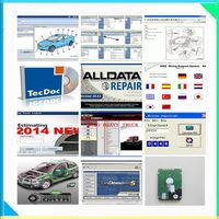 Alldata Software all data 1tb harddisk alldata and mitchell software 16 softwares with Vivid workshop elsawin heavy truck data
