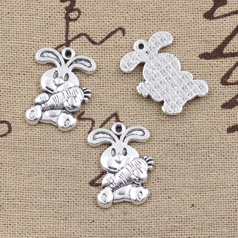 Cute Animal Jewelry Kawaii Plastic Bead Bubblegum Necklace Buy Cheap 20pcs Acrylic Rabbit Beads 3d Bunny Charms 16mm X 16mm Mix Color Back To Search Resultsjewelry & Accessories