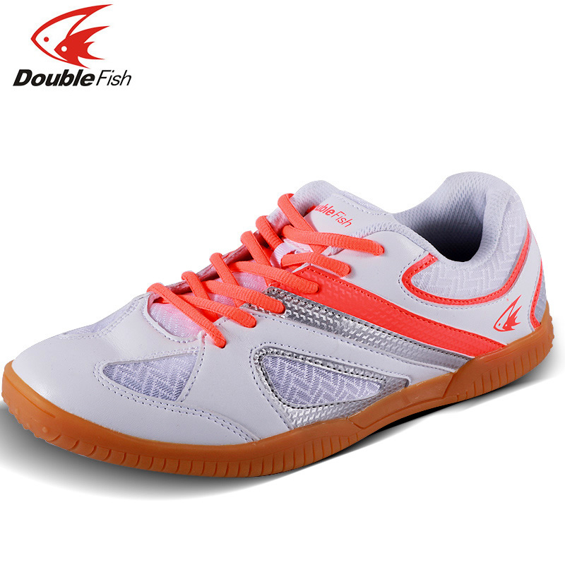 New Arrival DOUBLE FISH DF 838 table tennis Shoes For Men Women Breathable Anti slippery ping pong Sneakers-in Table tennis shoes from Sports & Entertainment    3