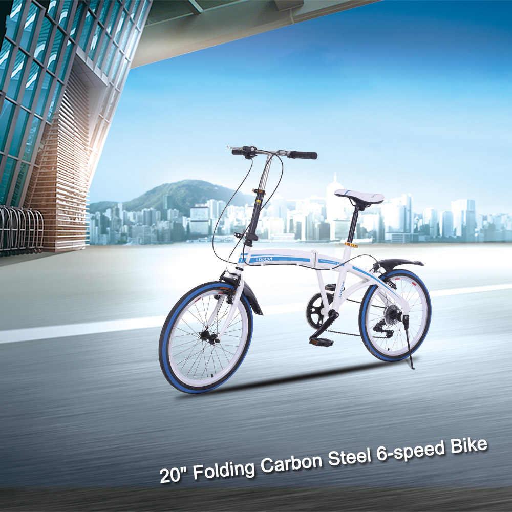 """Это 20 """"складной углерода Сталь U8 велосипед 6-скорость Портативный велосипед сложить для хранения 2018 новый дизайн велосипед для мужчин и Для женщин"""