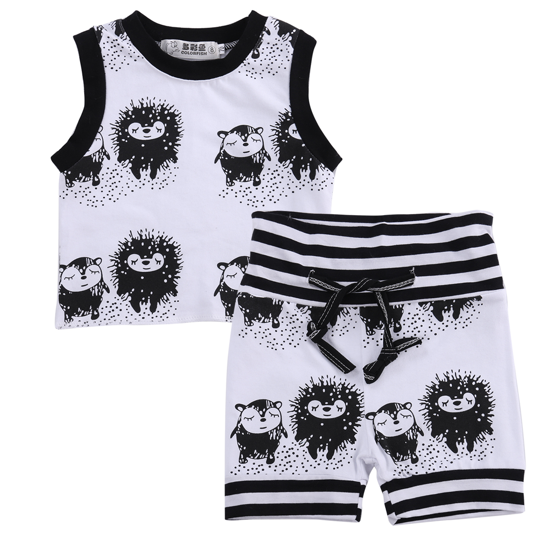 Baby boy clothes 2016 Brand summer kids clothes sets t ...