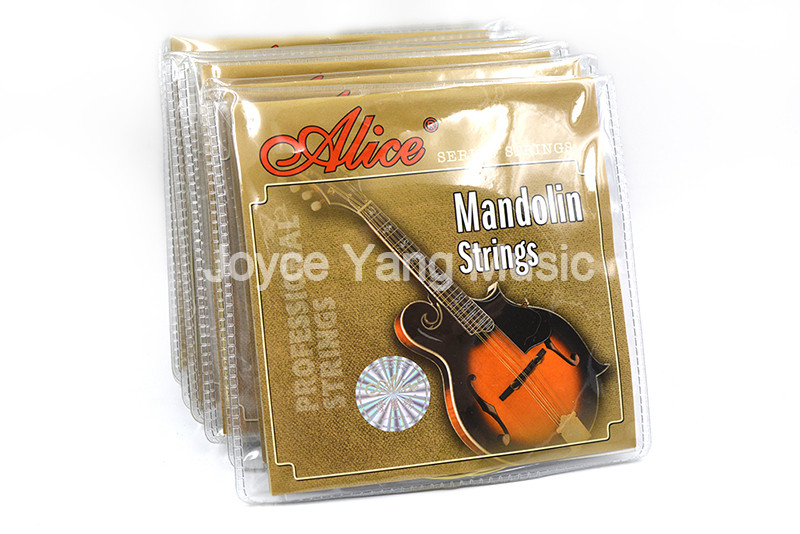 10 Sets of Alice AM04 Mandolin Strings Plated Steel&Coated Copper Wound Strings 1st-4th 010-034 Free Shipping Wholesales lacywear km 4 gus