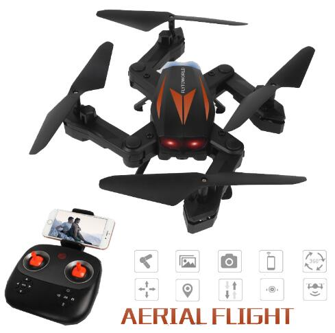 MJD F12W Selfie RC Big Drone Quadcopter Helicopter Wifi FPV 2MP HD Camera Foldable Headless Mode 6-axis Gyro Height Hold RTF