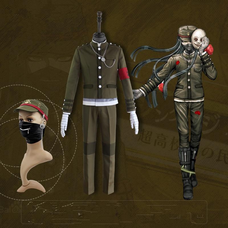 Danganronpa V3 Korekiyo Shinguji Cosplay Kostume Ensartet Halloween - Kostumer - Foto 2