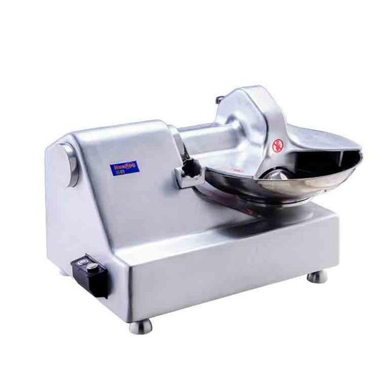Automatic Stainless Steel Chopping Machine, Chopped Meat, Vegetable Food, Fish Ball,Beef Ball, Meat Filling 5.5L