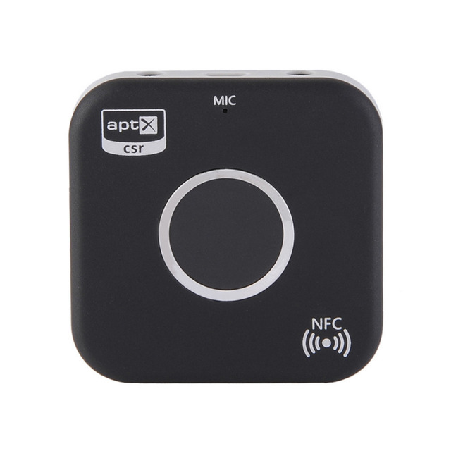Bluetooth 4.1 NFC-Enabled Audio 3.5mm Receiver for Home Car Sound System Support call for Android/IOS/Bluetooth audio devices