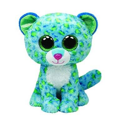 Bright Big Eyes Soft Plush Toys Animal Pet font b Doll b font Green Leopard