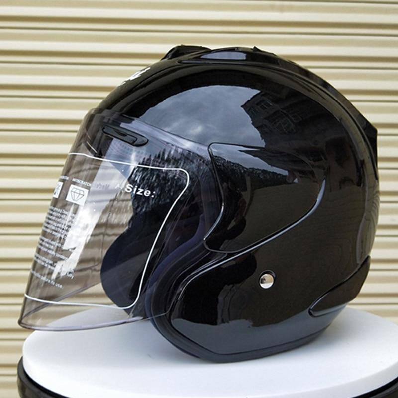 2018 Arai R4 Top Hot 3/4 Helmet Motorcycle Helmet Half Helmet Open Face Helmet Casque Motocross Size: S M L Xl Xxl,capacete Aesthetic Appearance