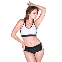 bathing suit women two piece swimsuit sport solid color mosaics swimsuit flat Angle swimsuit in a pure color, thin and sexy ba