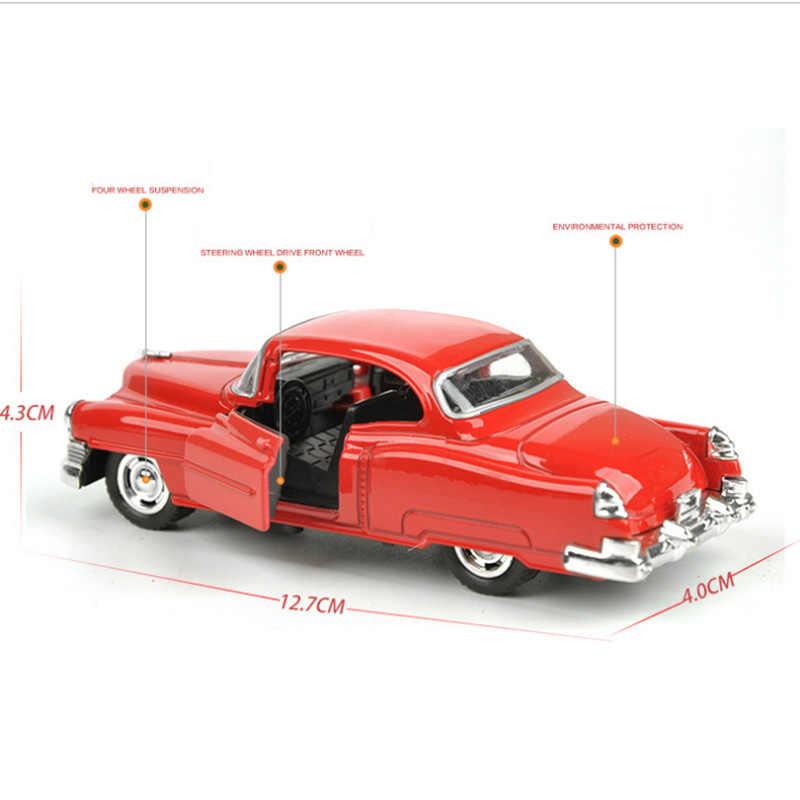 1: 32 escala 12.7 CENTÍMETROS Liga de Puxar Para Trás Modelo de Alta Simulação de Super Clássico Modelo de Carro de Corrida Veículo Auto Car Presentes Coleções crianças