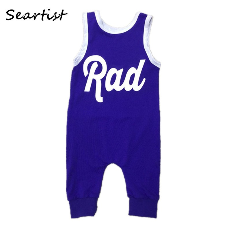 Baby Boys Girls Sleeveless Romper Newborn Infant Clothing Girls Summer Spring Cotton Jumper Toddler Jumpsuit 0-5Yrs 40G