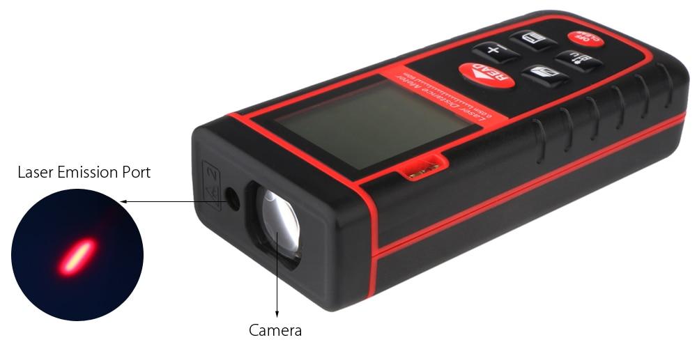 Digitale laser distanzmessgerät mt entfernungsmesser trena