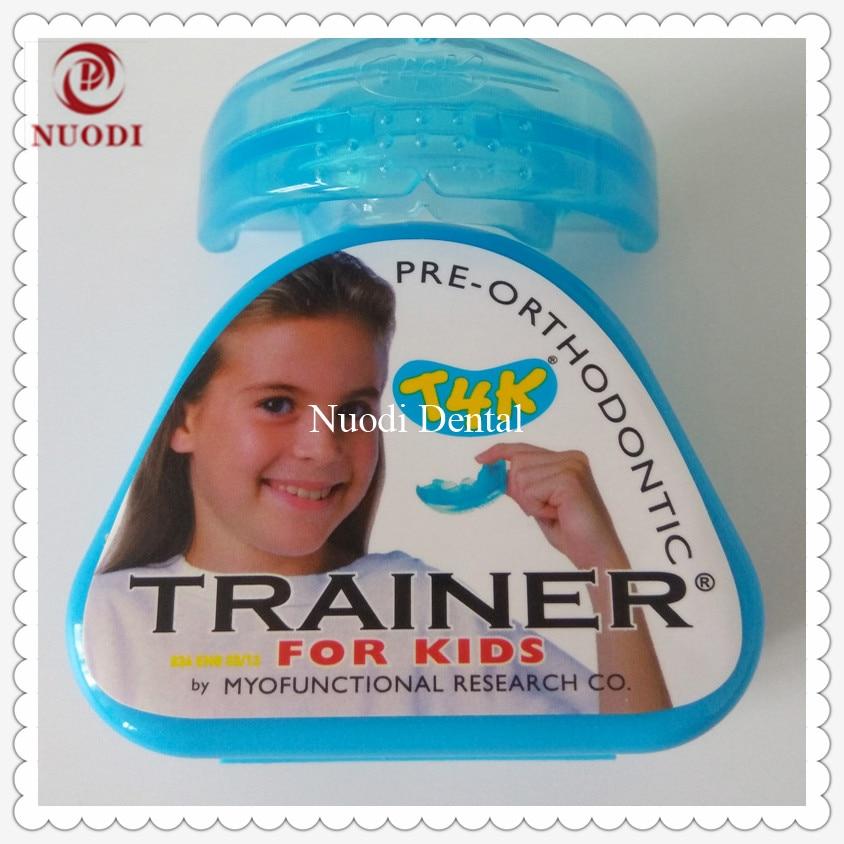 MRC Teeth Trainer appliance T4K age 6-8/T4K trainer brace for kids/Dental Orthodontic Brace T4K/MRC pre-orthodontic trainer T4K original trainer t4k phase ii red hard trainer
