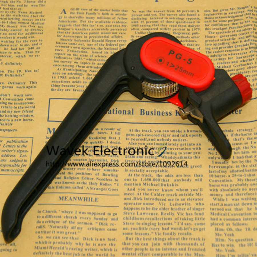 PG-5 Cable Knife Wire Stripper For Longitudinal Circular Stripping Comm/PVC/LV/MV Cablesmax 25mm