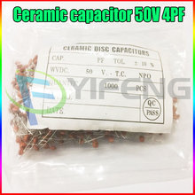 New 100PCS & 1000PCS Ceramic capacitor 50V 4PF