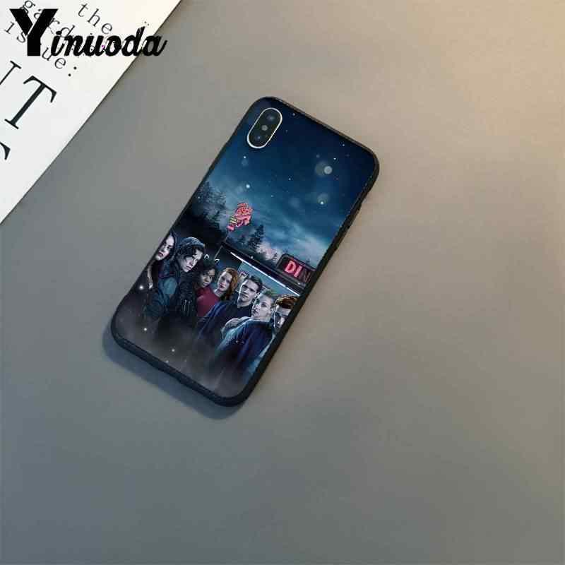 Yinuoda الأمريكية التلفزيون ريفرديل Jughead جونز الأسود غطاء الهاتف آيفون 8 7 6 6S 6Plus X XS ماكس 5 5s SE XR 10 11 11pro 11promax