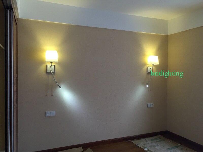 Vintage lampada da parete ristorante illuminazione della scala