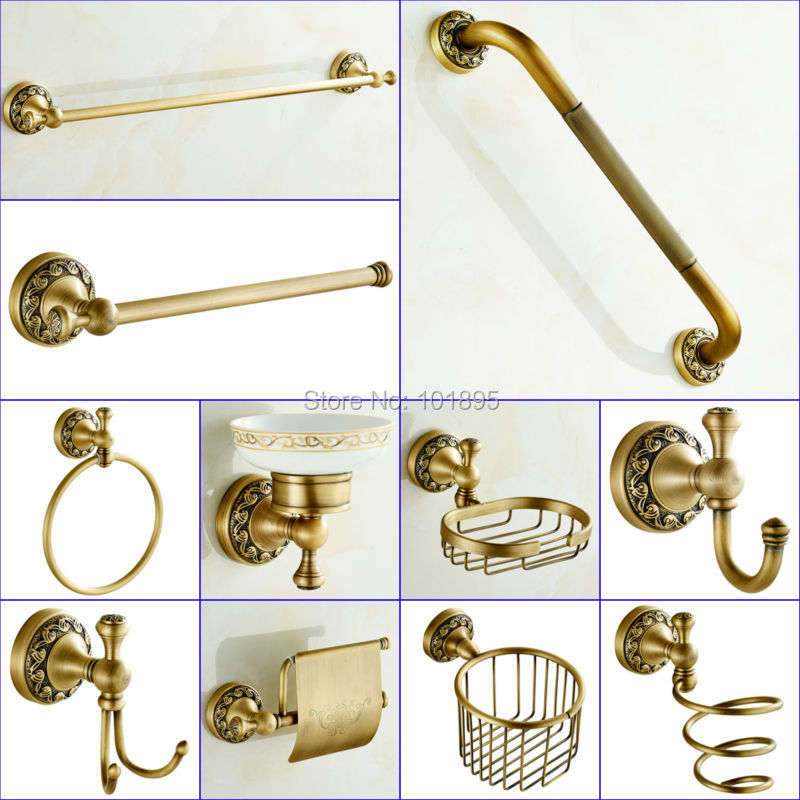 Buy Bronze Color Brass Material Bathroom Accessories X16012 1 From Reliable